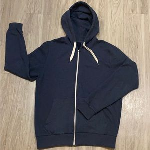 Men's Hoodie with Zipper and front pockets